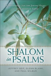 Shalom in Psalms: A Devotional from the Jewish Heart of the Christian Faith - eBook