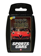 Top Trumps Card Game: Sports Cars