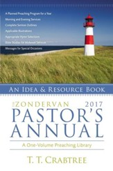 The Zondervan 2017 Pastor's Annual: An Idea and Resource Book - eBook