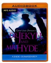Robert Louis Stevenson's Dr. Jekyll and Mr. Hyde - unabridged audio book on MP3-CD