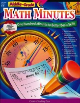 Math Minutes Middle-Grade