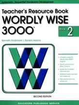 Wordly Wise 3000 Teacher Resource Book 2, 2nd Edition