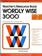 Wordly Wise 3000 Teacher Resource Book 7, 2nd Edition