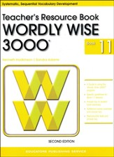 Wordly Wise 3000 Teacher Resource Book 11, 2nd Edition