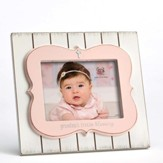 Grandma's Little Blessing Photo Frame, Pink