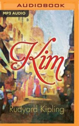 Kim - unabridged audio book on MP3-CD - unabridged audio book on MP3-CD