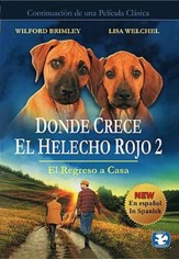 Donde Crece El Helecho Rojo 2: El Regreso a Casa  (Where the Red Fern Grows 2: The Homecoming), DVD