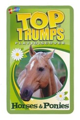 Top Trumps Card Game: Horses &  Ponies