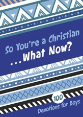 So You're a Christian . . . What Now?: 100 Devotions for Boys - eBook