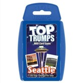 Top Trumps Card Game: Seattle