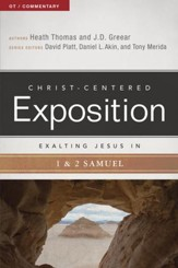 Exalting Jesus in 1 & 2 Samuel - eBook