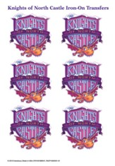 Knights of North Castle: Iron-On Transfers (pkg. of 12)