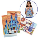 Knights of North Castle: Sparky's Castle Sticker Posters (pkg. of 12)