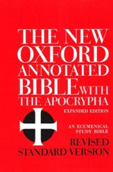 RSV New Oxford Annotated Bible with the Apocrypha, Expanded Edition, hardcover - Slightly Imperfect