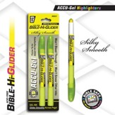 Gel Bible Highlighter 2 Pack, Yellow