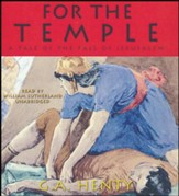 For the Temple - unabridged audiobook on CD