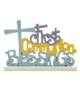 First Communion Blessings Figurine
