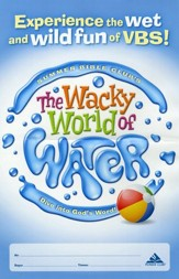 The Wacky World of Water VBS: Dive into God's Word!                 Promotional Poster