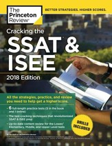 Cracking the SSAT & ISEE, 2018  Edition - eBook