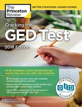 Cracking the GED Test with 2  Practice Exams, 2018 Edition - eBook