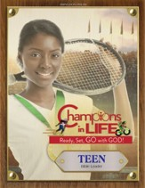 Champions in Life: Teen Leader Guide with Music CD