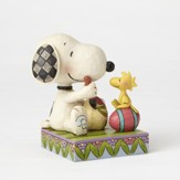 Snoopy and Woodstock Figurine, A Colorful Tradition, Painting Easter Eggs