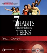 The 7 Habits of Highly Effective Teens Unabridged Audiobook on CD