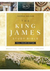 The King James Study Bible, Ebook, Full-Color Edition - eBook