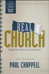 Real Church Curriculum, Teacher Edition: Discover God's Pattern for the Local Church