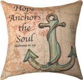 Hope Anchors Pillow