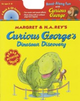 Curious George Dinosaur Discover Book + Cd