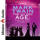 The Gilded Age - unabridged audio book on CD - Slightly Imperfect
