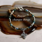 Prayer Changes Things, Cross Bracelet