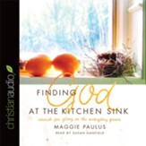 Finding God at the Kitchen Sink: Search for Glory in the Everyday Grime - unabridged audio book on CD