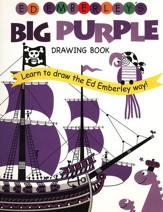 Ed Emberley's Big Purple Drawing Book (Repackaged)