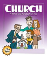 Church: A Bible Study Wordbook for Kids - eBook