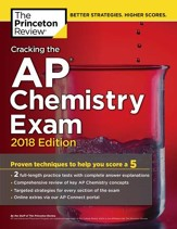 Cracking the AP Chemistry Exam, 2018  Edition - eBook