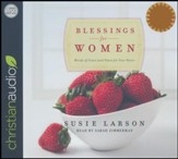 Blessings for Women: Words of Grace and Peace for Your Heart - unabridged audio book on CD