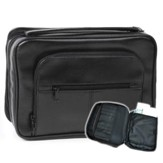 Deluxe Organizer with Study Kit Bible Cover, Black, Large