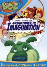 Boz the Green Bear Next Door: Thank You, God, for Adventures  in Imagination, DVD
