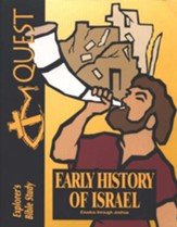 Bible Quest: Early History of Israel (Exodus-Joshua), Student Workbook