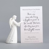 Angel, Memorial Prayer Card Holder