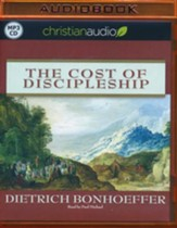 The Cost of Discipleship - unabridged audiobook on  MP3-CD