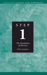 Step 1 AA Foundations of Recovery: Hazelden Classic Step Pamphlets - eBook