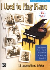 I Used to Play Piano Book & Audio CD