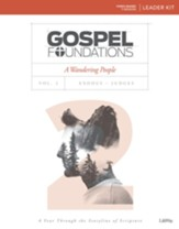 Gospel Foundations, Volume 2, A Wandering People: Exodus, DVD Leader Kit