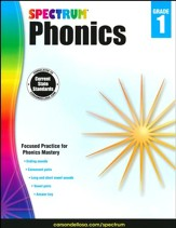 Spectrum Phonics & Word Study Grade  1 (2014 Update)