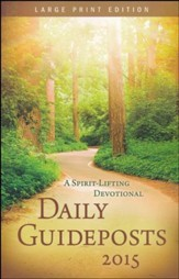 Daily Guideposts 2015 Large Print
