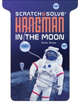 Scratch & Solve Hangman in the Moon