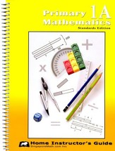 Primary Mathematics Home Instructor's Guide 1A (Standards Edition)